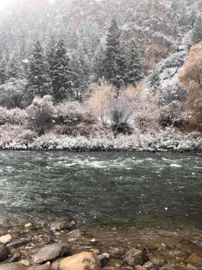 Glenwood Springs Snow